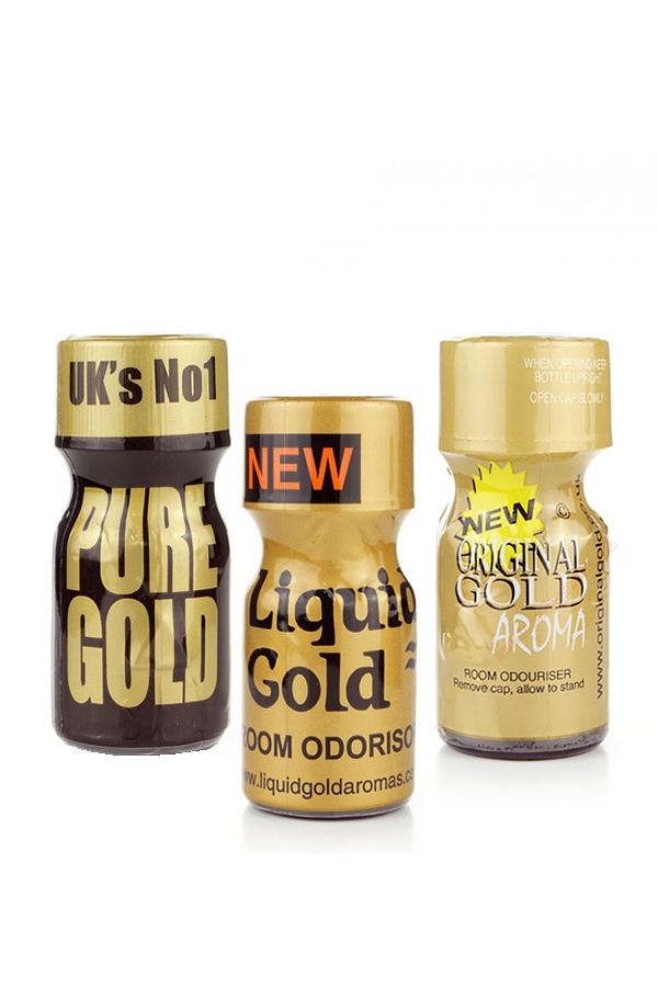 Gold Bundle Poppers